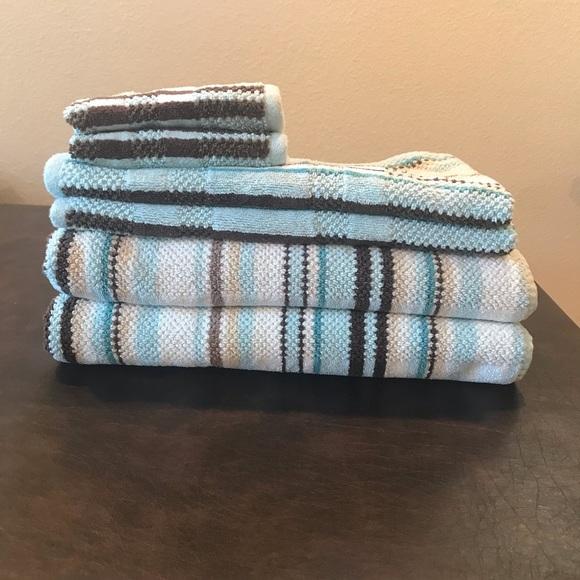 Dkny Accessories Copy 6 Pc Towel Set Blue Available Poshmark